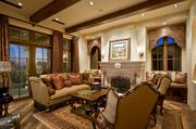 The home features 7 masonry fireplaces.