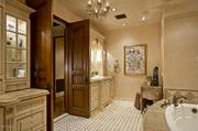 One of the home's seven bathrooms.