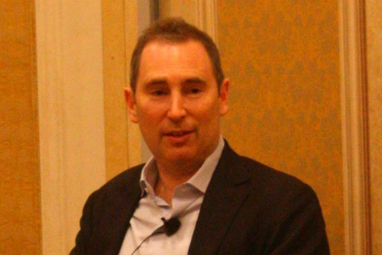 Andy Jassy, head of Amazon Web Services, gave the keynote speech at the re:Invent conference Nov. 13 at the Venetian hotel in Las Vegas.