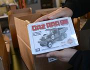 Brickmania keeps an archive of the company's World War II kits with production information. Bigger kits come with signed and numbered certificates of authenticity.