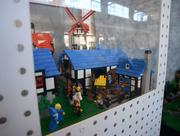 The Blacksmith Shop was Dan Siskind's first home-built custom Lego kit that he released in 2000. Dan sold 24 kits but discontinued production because he couldn't find certain pieces. The set was the first fan-created model released by Lego, and sold from 2002 to 2004.