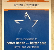 A poster for the Patient Centered Primary Care Home Program