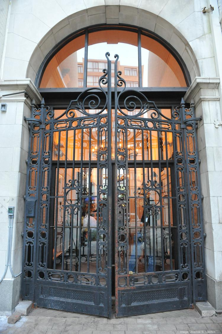 The main entry way to Iron Gate is through a massive iron gate ... go figure.