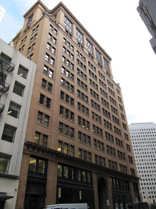 Credit Suisse paid $105 million for the historic Adam Grant building at 114 Sansome St. in San Francisco.