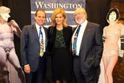 From left, Bert Valdman, Madeleine Valdman and Bruce McCaw were among those attending the Washington News Council gala in Seattle on Nov. 8.