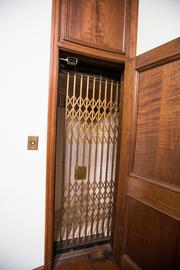 This may be the first residential elevator built in an Austin home.