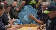 Machinists union officials count ballots cast by members on whether to accept Boeing's latests contract offer.