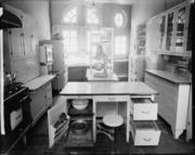 The Iron Gate kitchen in 1924.