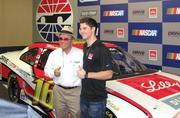 """CBJ Seen: NASCAR fans visited the American Diabetes Association's Drive to Stop Diabetes pavilion at Charlotte Motor Speedway last month to meet driver Ryan Reed, who has type 1 diabetes and founded the D2SD public awareness program. Pictured are Jack Roush and Ryan Reed.Want to see your events featured? Send photos and captions in an email to aangel@bizjournals.com, with """"CBJ Seen"""" in the subject line."""
