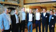"""CBJ Seen: Charlotte Rescue Mission's 75th anniversary event was Oct. 29 at the Billy Graham Library. From left: Bill Lockley, Ed Currie, Todd Buelow, Zack Zitsos, Carmen Vadini, Chris Jonas and Casey Mears. Want to see your events featured? Send photos and captions in an email to aangel@bizjournals.com, with """"CBJ Seen"""" in the subject line."""