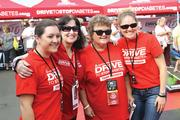 """CBJ Seen: NASCAR fans visited the American Diabetes Association's Drive to Stop Diabetes pavilion at Charlotte Motor Speedway last month to meet driver Ryan Reed, who has type 1 diabetes and founded the D2SD public awareness program. From left: Christina Bickley, Dianne Roth, Pat Higgins and Rolly Sauls. Want to see your events featured? Send photos and captions in an email to aangel@bizjournals.com, with """"CBJ Seen"""" in the subject line."""