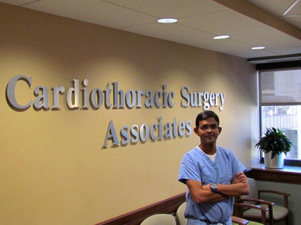 Dr. Syed Zaman, a native of Pakistan, is a heart surgeon at Miami Valley Hospital