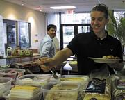 Free lunch: Bioformix Inc., a Loveland-based company, provides lunch - and breakfast - each day to its employees.