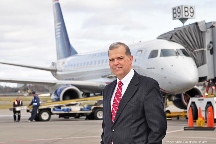 John O'Donnell, CEO, Albany International Airport in Albany, NY