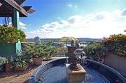 There are more than 3,000 square feet of terraces, which include multiple fountains and gardens.
