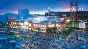 The first phase of Ballpark Village, a 100,000-square-foot development, will open to the public April 2.