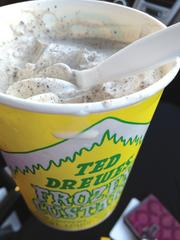 Ted Drewes - Frozen custard will be sold in the marketplace and has locations on Chippewa Street and South Grand Boulevard.