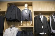 Menswear is available at the store.