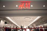 The H&M store is located across from Coldwater Creek and the Apple Store.