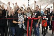 Employees counted down to the grand opening.