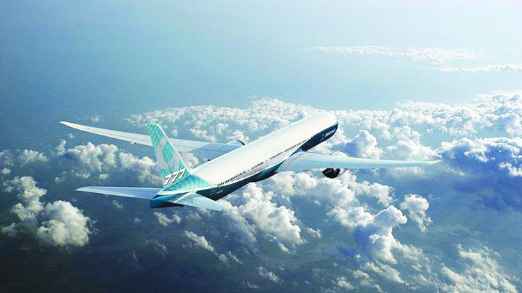 Boeing's 777-9, the largest version of the 777X, will be the biggest twin-engine jet in the sky, a fact that has Chicago-based Boeing (NYSE:BA) hoping to capture the lion's share of the projected $1 trillion in sales of that size plane over the next decade.