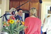 Also in that issue: ABC Nightline filmed a news segment on house-flippers in the Charlotte market. Pictured is local Realtor David Hoffman with the TV crew.