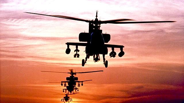 The U.S. Department of Defense is looking at cutting back on work on some Apache helicopters that would be done by Boeing in Mesa.