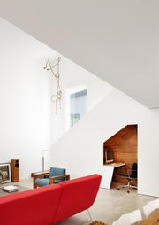 Alterstudio Architecture received the ASID award for the best small contemporary home space.