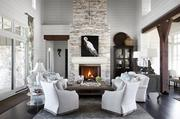 Heather Scott Home & Design received the ASID award for the best large traditional home design.