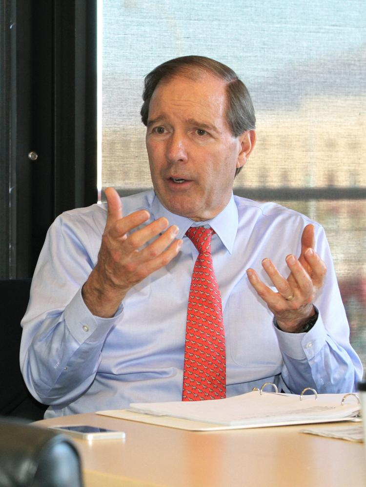 Sen. Tom Udall (D-NM) spoke in favor of increasing the federal minimum wage in a speech on the Senate floor Tuesday.