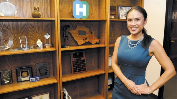 Sherry Menor-McNamara, president and CEO of the Chamber of Commerce Hawaii, discussed the Hawaii on the Hill event with PBN.