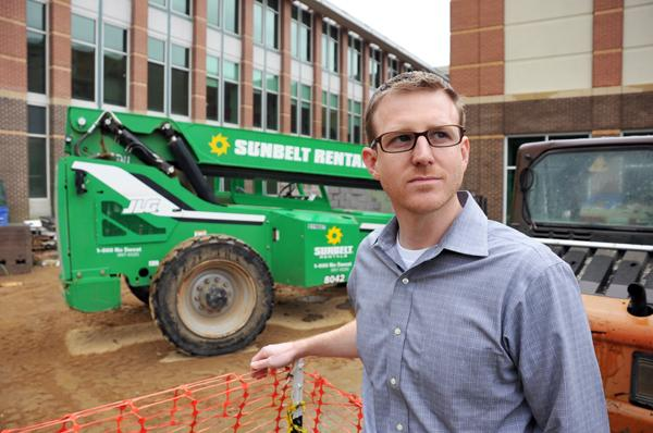 Flintco construction manager David Lewis decided while in the military that he wanted to further his education.