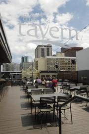 The Tavern Downtown at Market and 20th streets. Photo by Kathleen Lavine 5/11