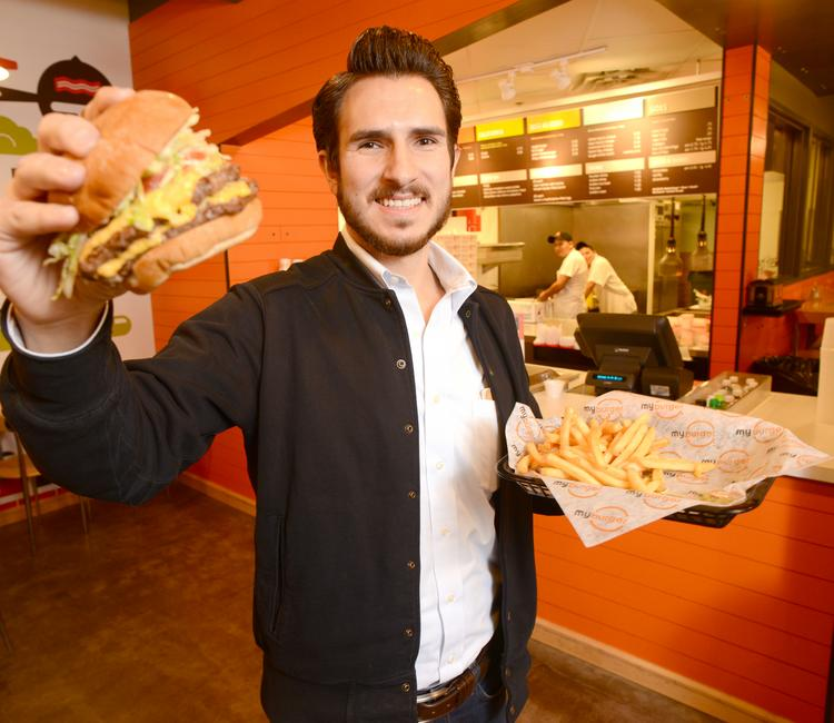 My Burger President John Abdo and his family have plans to expand the concept in 2014.
