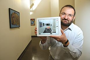 Miloš Jovanović brought his skills as an architect to SpaceView, a software startup that helps consumers visualize a product in their home before buying it.