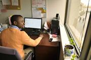 Claude Gboro, who served as a doctor in the Democratic Republic of the Congo, works at ACC (African Community Center) as a health coordinator.