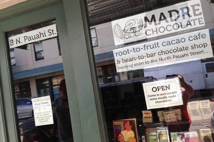 Madre Chocolate recently opened its second Hawaii location at 8 N. Pauahi St. in Honolulu's Chinatown.
