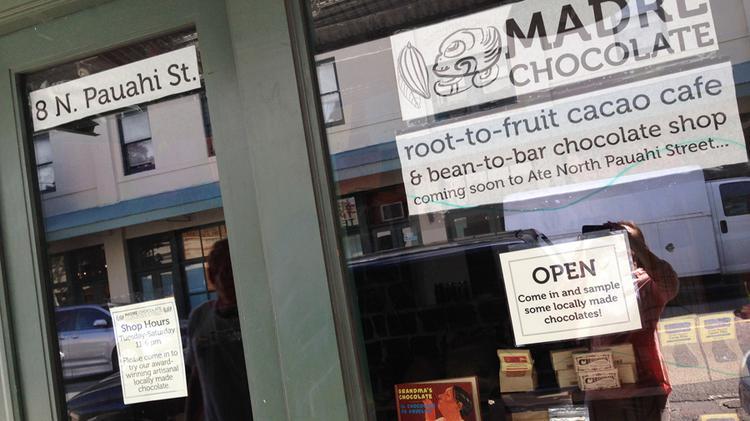 The owners of Madre Chocolate's Chinatown location at 8 N. Pauahi St. plan to open a larger cafe.