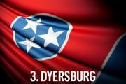 No. 3 Dyersburg Dyersburg moves from the low-middle ranks to a disappointing 48th this year. The city had nearly the highest sales tax, one of the highest unemployment rates across the state, and the second highest decrease in population amongst the fifty cities—all of which lead to the city's rapid decline in the 2013 index.  Economic Vitality Ranking:  13.9 (47th)  Business Tax Burden Ranking:  33.7 (43rd)  Community Allure Ranking:  55.3 (31st)  Overall Ranking:  30.1