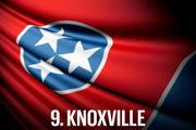No. 9 Knoxville Despite making progress in two of the three categories in 2013, Knoxville continues to be plagued by its extraordinarily high Business Tax Burden, finishing second to last in this category for a second straight year. Its low median household income weighed down otherwise average marks in residential population growth and job growth, leading to a 42nd place finish and up just two spots from 2012.  Economic Vitality Ranking:  43.2 (26th)  Business Tax Burden Ranking:  24.5 (49th)  Community Allure Ranking:  51.8 (35th)  Overall Ranking:  37.5
