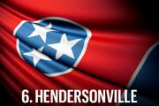 No. 6 Hendersonville  Up two spots from 2012, Hendersonville represents Sumner County in the top 10 for a second consecutive year. Hendersonville exhibited a solid education performance and a relatively higher median income level. However, the city's low population growth, tax burdens that are not competitive with those of the higher ranked cities, and a relatively high unemployment rate kept this Nashville suburb from breaking into the top five.  Economic Vitality Ranking:  65.2 (7th)  Business Tax Burden Ranking:  76.4 (9th)  Community Allure Ranking:  68.3 (8th)  Overall Ranking:  70.3