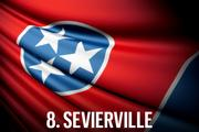 No. 8 Sevierville Sevierville breaks into the top 10 in 2013, giving residents of this historic Appalachian community a success to build upon in the coming years. The city maintained its status as the third least burdensome city for business taxes, while jumping eighteen spots to finish in 13th for Economic Vitality, due in large part to its slightly above average population growth and below average unemployment rate. However, the city is hampered by a higher cost of living, below average high school graduation rates, and slightly above average crime rate per capita, amounting to a downward trending Community Allure ranking.  Economic Vitality Ranking:  58.0 (13th)  Business Tax Burden Ranking:  86.1 (3rd)  Community Allure Ranking:  50.4 (38th)  Overall Ranking:  67.8