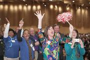 Twin Lakes employees celebrate at the Best Places to Work event at the Duke Energy Convention Center.