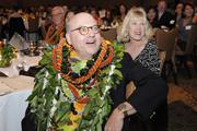Chuck Sted, former president and CEO of Hawaii Pacific Health, was honored with the Business Leadership Hawaii Lifetime Achievement award.