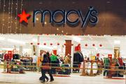 A number of retailers are decorated for the holidays.