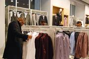 Shoppers browse the 25,000-square-foot store.
