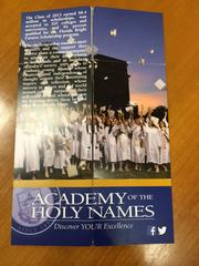 "Rinaldi created a ""perpetual folder"" for the Academy of Holy Names."