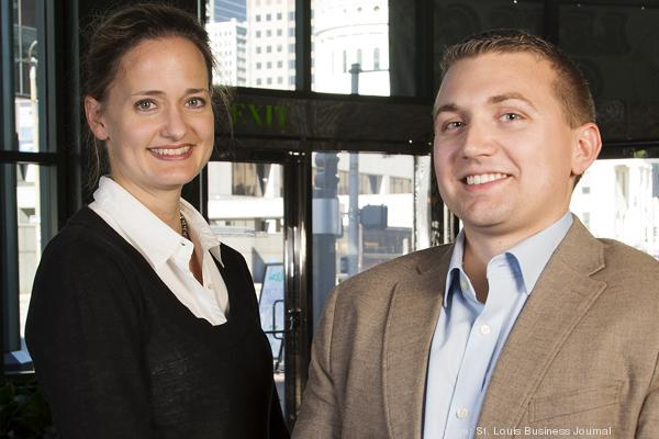 Ginger Imster and Ben Burke, the new leadership team at Arch Grants.
