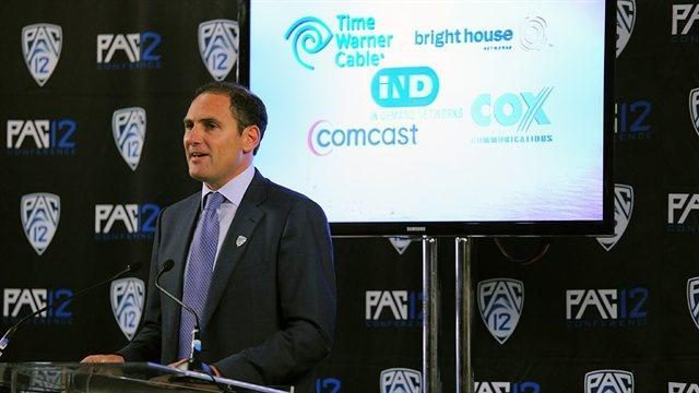No. 1: Larry Scott Organization: Pacific-12 Conference Title: Commissioner Total compensation: $3,096,874 For fiscal year ending: 6/30/12