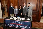 M.F. Irvine Corporate Solutions at the Philadelphia Business Journal's Health Care Reform Breakfast held at the Union League on Nov. 14.